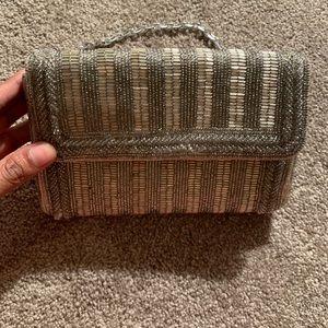 Vintage beaded handbag/clutch
